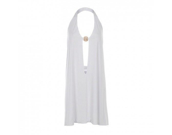 0016 beach-ease dress white