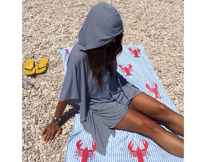 2014 hooded kaftan mariniera